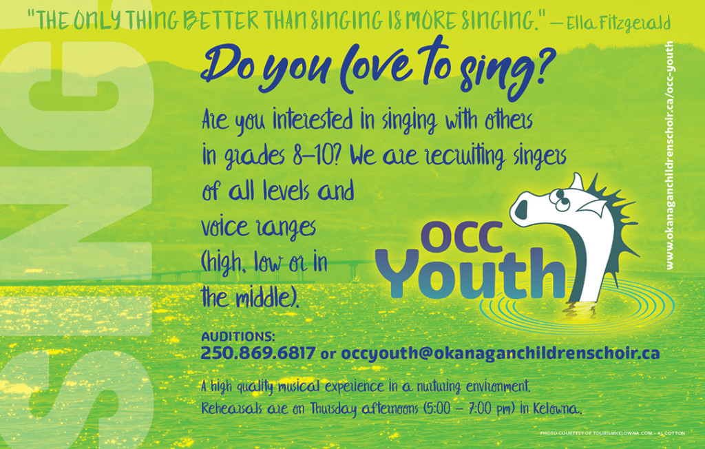 OCCYouth_audition poster